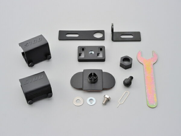 【96888】ドライブレコーダーDDR-S100用補修パーツ マウントセット(樹脂製) ハーレーパーツ