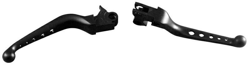 【482864】O-SERIES ブレーキ&クラッチレバー ブラック ハーレーパーツ