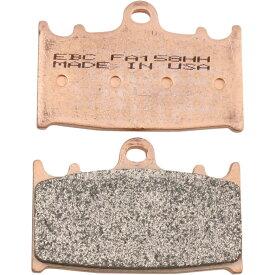 【fa158hh】 DOUBLE-H ブレーキパッド BEHRINGER 4-Piston Caliper PRO-ONE 4-Piston Caliper ハーレーパーツ