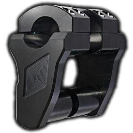 【06020842】 PATRIOTシリーズ ピボッティング ライザー ブラック/2インチ ハーレーパーツ
