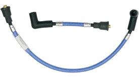 【21040025】CANDY APPLE BLUE ブレイデッドプラグワイヤー 2000〜17年ソフテイル ハーレーパーツ