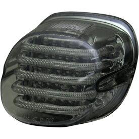 【20101363】 PROBEAM LOW PROFILE LEDテールライト スモークレンズ / ナンバープレート照明窓有り ハーレーパーツ