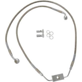 【17413787】 フロントブレーキラインキット ダイナ用 ABSモデル/48cm/75cm (+2インチ) ハーレーパーツ