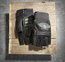 【グローブ】 Winged Skull Fingerless Gloves ◆ハーレー◆
