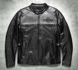 【98119-17vm】Votary Leather Jacket ハーレーアパレル
