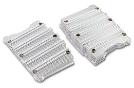 【09401341】 10-GAUGE ロッカーボックスカバー:クローム/1999〜17年ツインカムモデルに適合 ハーレーパーツ