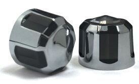 """【24040635】 DIAMOND CUT CROWN ボルトカバー:5/16""""ソケットヘッドボルトに適合 (使用する工具サイズ1/4"""")/クローム/ブラック"""