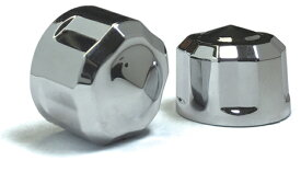 【24040628】 DIAMOND CUT CROWN ボルトキット ツインカム用:クローム