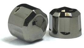 "【24040641】 DIAMOND CUT CROWN ボルトカバー:5/16""ソケットヘッドボルトに適合 (使用する工具サイズ1/4"")/ブラッククローム"