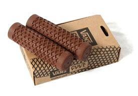 【VANS02BR】 VANS x CULT ワッフルグリップ:7/8インチハンドル用/ブラウン/汎用品