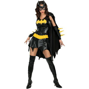 バットマン 衣装、コスチューム コスプレ  バットガール セクシー 大人女性用
