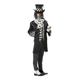 DARK MAD HATTER マッドハッター 不思議の国のアリス風 ゴスロリ 衣装、コスチューム 男性用 コスプレ
