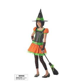 SASSY PUMPKIN WITCH 魔女 魔法使い 衣装、コスチューム 子供女性用 コスプレ