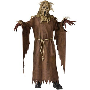 おばけ Scarecrow 幽霊 かかし 衣装、コスチューム 子供男性用 コスプレ