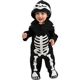 スケルトン 骸骨 ホラー 衣装、コスチューム ベビー用 コスプレ