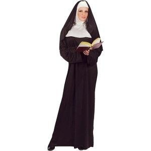 修道女 衣装、コスチューム 大人女性用 シスター 教会 Nun コスプレ