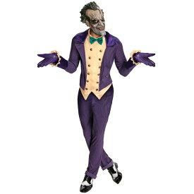 バットマン アーカムシティ ジョーカー 衣装、コスチューム 大人男性用 コスプレ