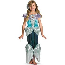 アリエル 衣装、コスチューム DLX 子供女性用 リトルマーメイド ディズニー コスプレ
