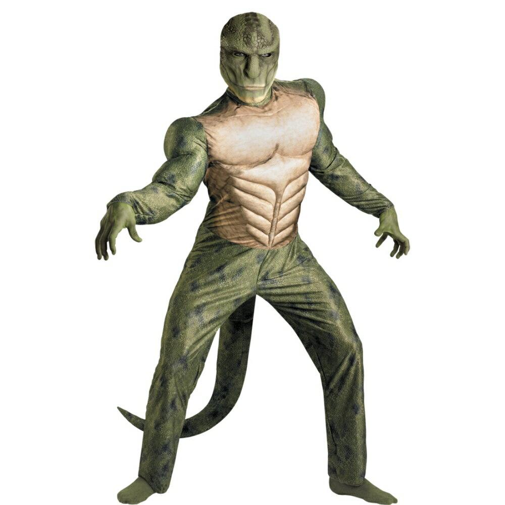 アメイジング スパイダーマン リザード 衣装、コスチューム 大人男性用 映画