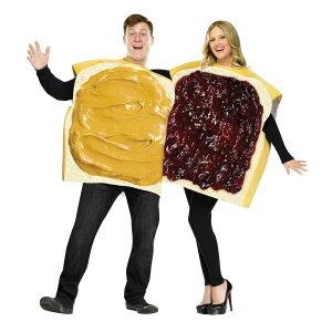 ピーナッツバター&ジェリー カップル 衣装、コスチューム 大人用 コスプレ