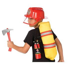 ギア・トゥ・ゴー、アドヴェンチャー・プレイ・セット ファイアーマン 消防士 子供男性用