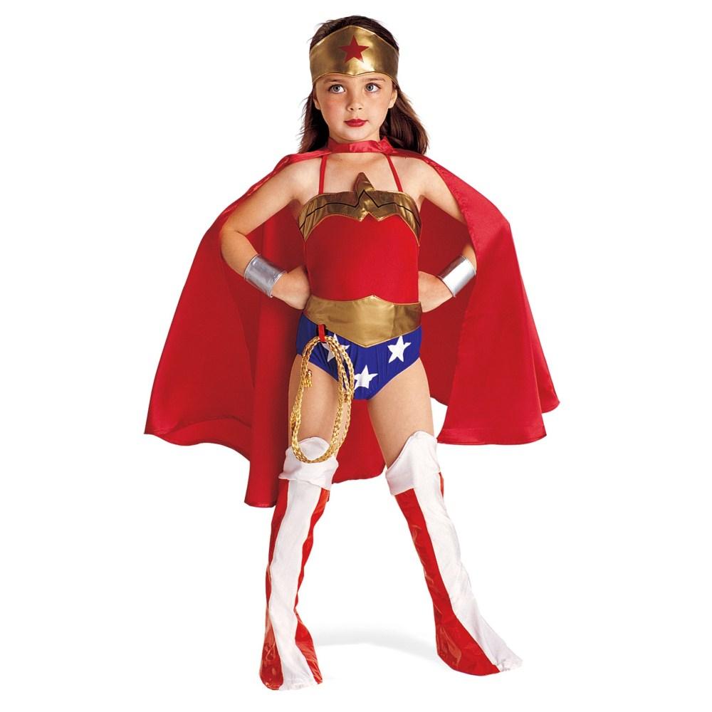 ジャスティス・リーグ DCコミックス ワンダーウーマン 衣装、コスチューム 子供女性用