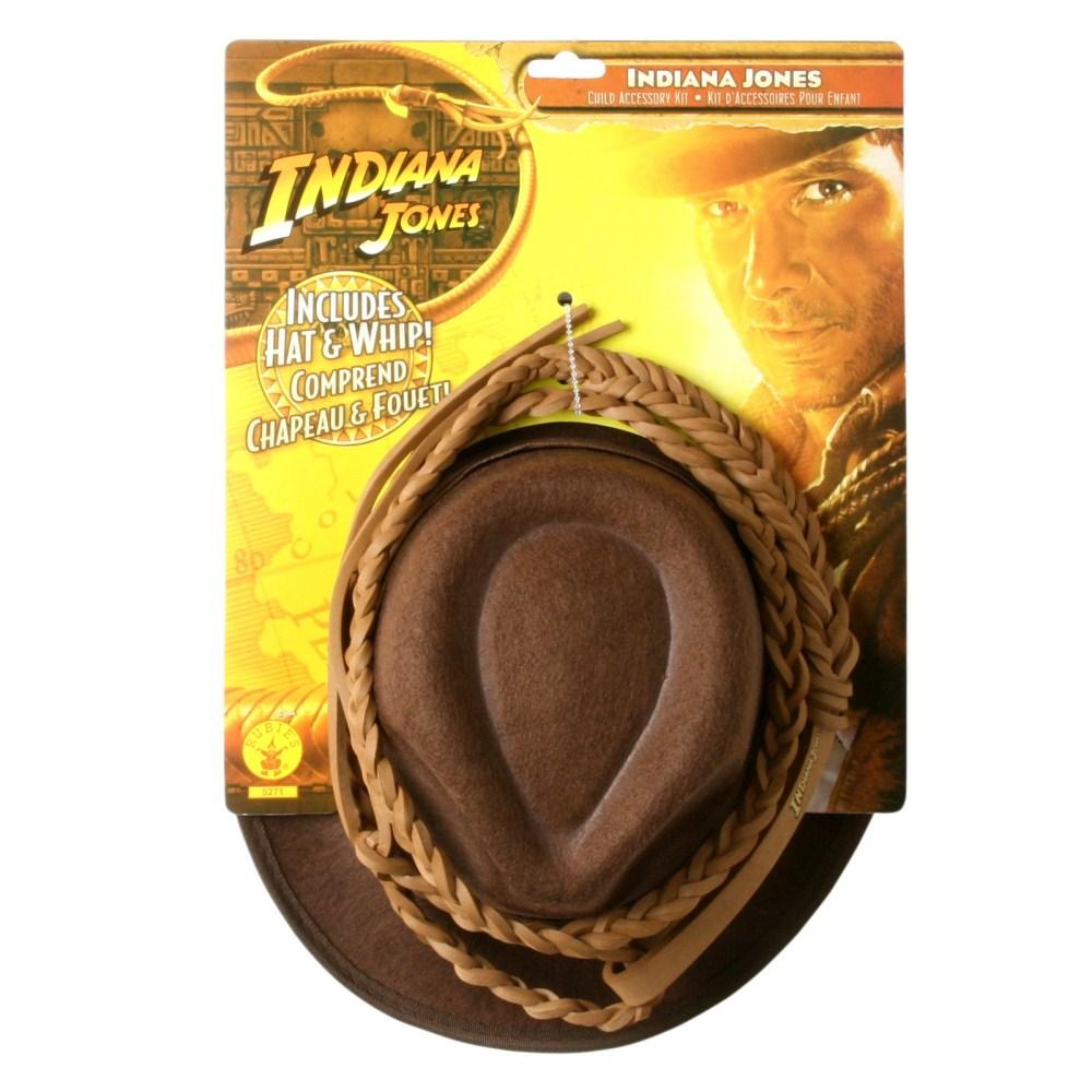 インディー・ジョーンズ 帽子とムチのセット 子供男性用 映画「インディー・ジョーンズ」シリーズ