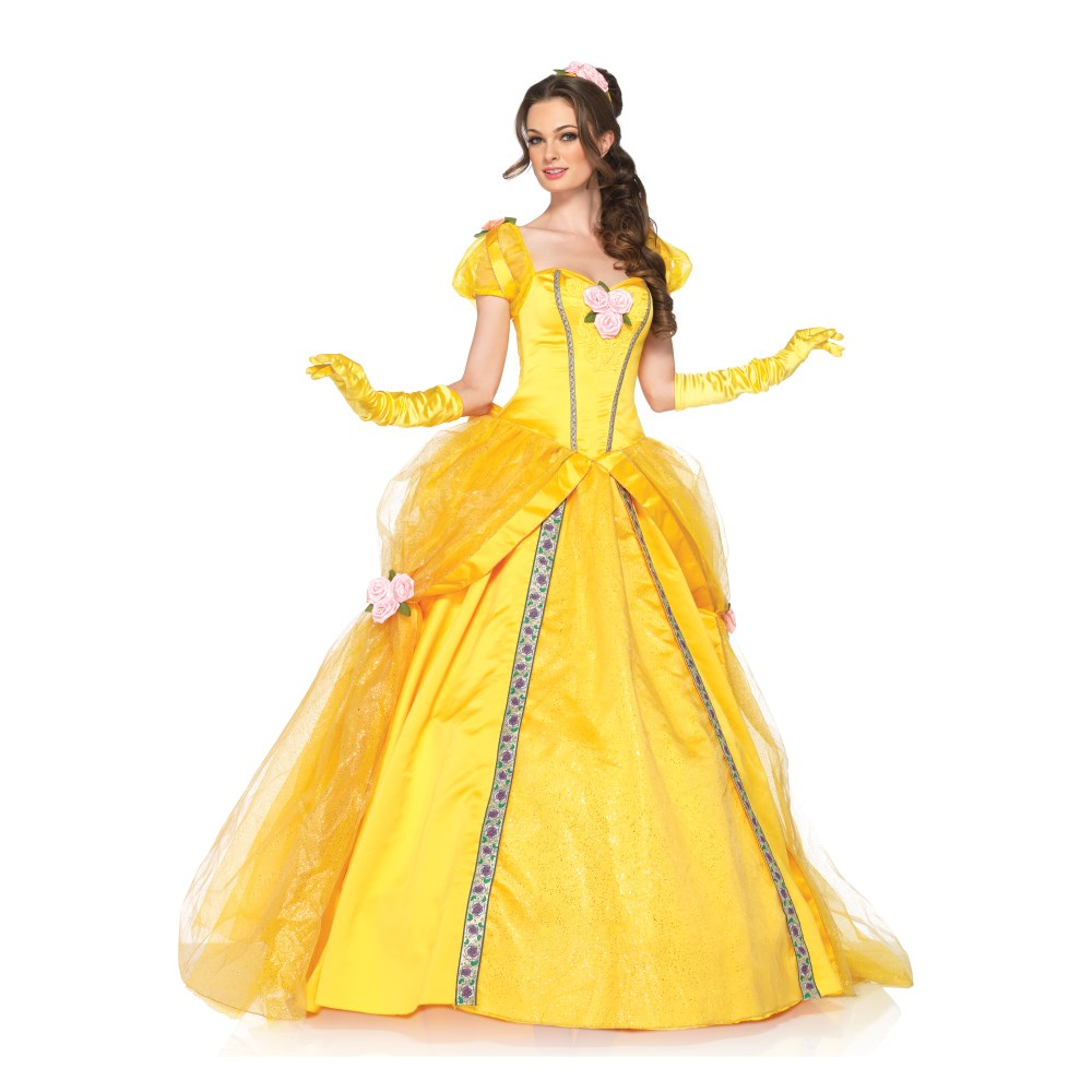 ベル 衣装、コスチューム DLX 大人女性用 美女と野獣 ディズニー Belle