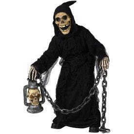 墓場の悪鬼 衣装、コスチューム 子供男性用 ホラー 骸骨