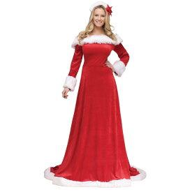 サンタクロース ドレス 衣装、コスチューム 大人女性用 セクシー Lady Santa Dress コスプレ