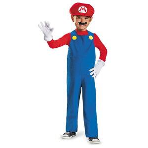 スーパーマリオ マリオ 衣装、コスチューム 子供用 コスプレ