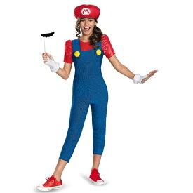 マリオ 衣装、コスチューム 子供女性用 スーパーマリオ コスプレ