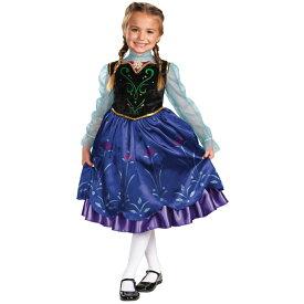 9b5153356e498 アナ 衣装、コスチューム 子供女性用 アナと雪の女王