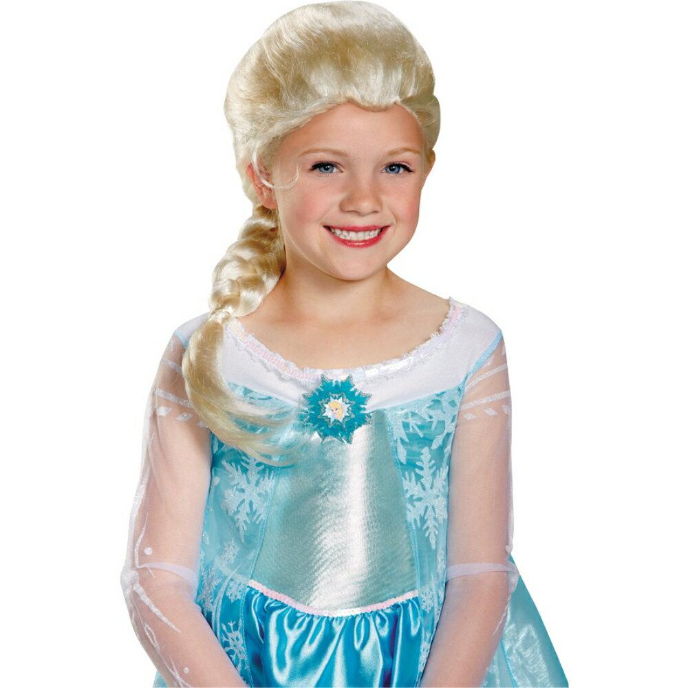 エルサ ウィッグ、かつら 子供女性用 アナと雪の女王