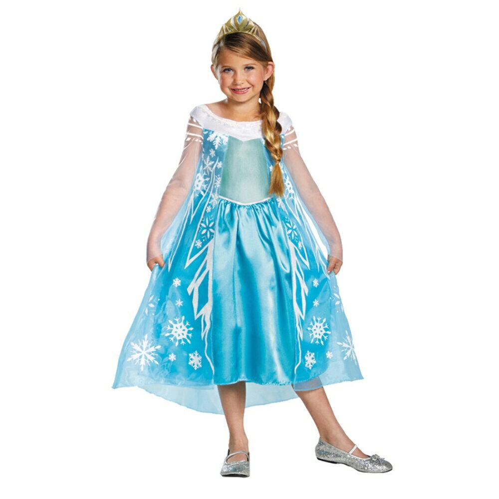 エルサ 衣装、コスチューム 子供女性用 DELUXE アナと雪の女王