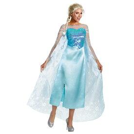 1d5c741b84a9a エルサ 衣装、コスチューム 大人女性用 DELUXE アナと雪の女王