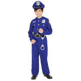ポリス 警察官 衣装、コスチューム 子供男性用