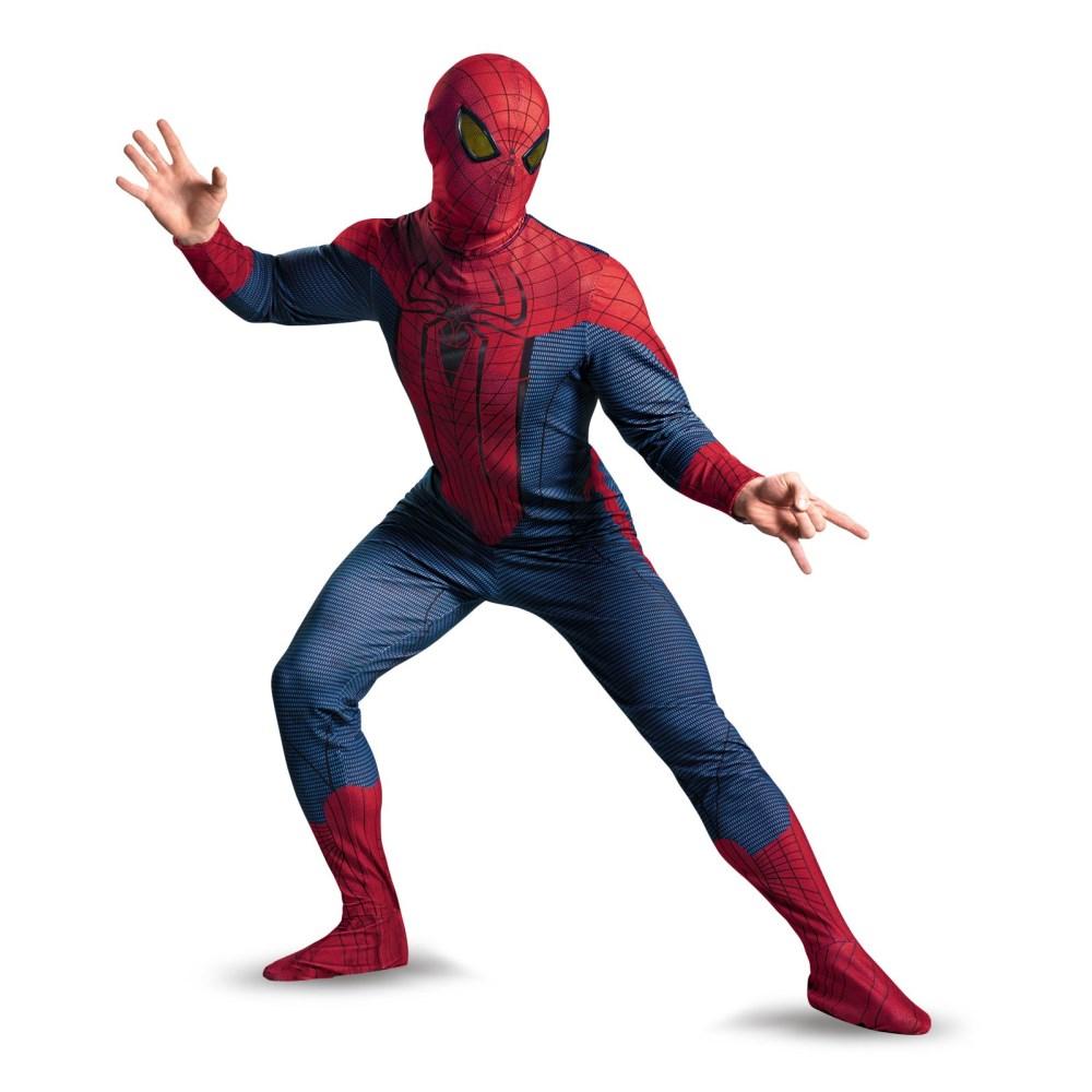 スパイダーマン アメイジング 衣装、コスチューム 大人男性用 SPIDER-MAN MOVIE