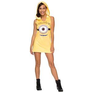 ミニオン 衣装、コスチューム 大人女性用 映画 怪盗グルー Minion Tank Dress コスプレ