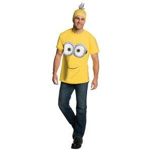 ミニオン 衣装、コスチューム 大人男性用 Tシャツ 映画 怪盗グルー Minions Movie コスプレ