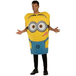 ミニオン デイブ 衣装、コスチューム 大人男性用 映画 怪盗グルー 着ぐるみ Despicable Me 2 Dave Minion コスプレ