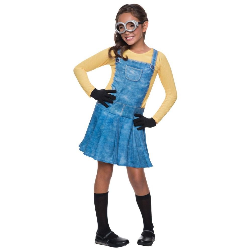 ミニオン 衣装、コスチューム 子供女性用 ミニオンズ Female Minion Child Costume