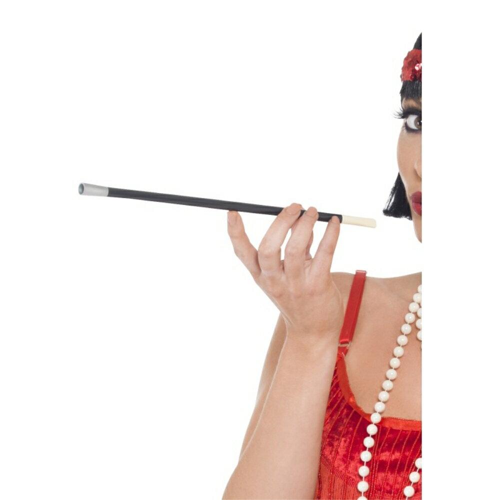 シガレットホルダー 黒  フラッパー風 1920年代 大人女性用 20's Style Cigarette Holder