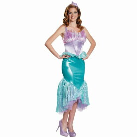 アリエル 衣装、コスチューム 大人女性用 リトルマーメイド 人魚姫 コスプレ