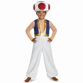 キノピオ 衣装、コスチューム 子供男性用 スーパーマリオ ゲーム デラックス コスプレ