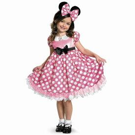 ミニーマウス ディズニー 衣装、コスチューム 暗闇で光る 子供女性用 Minnie Mouse コスプレ