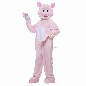 ブタ 衣装、コスチューム 着ぐるみ  大人男性用 Pinky the Pig コスプレ