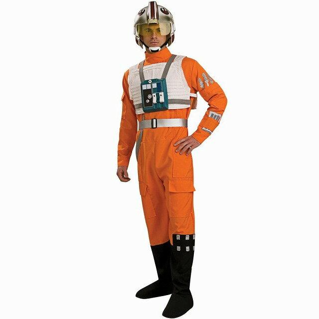 Xーウィング・ファイター・パイロット 衣装、コスチューム 大人男性用 スター・ウォーズ