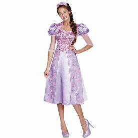 塔の上のラプンツェル 衣装、コスチューム 大人女性用 ディズニー RAPUNZEL DELUXE コスプレ