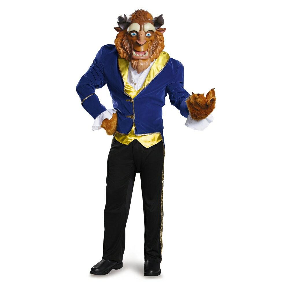ビースト 衣装、コスチューム 大人男性用 Prestige 美女と野獣 ディズニー ハロウィン